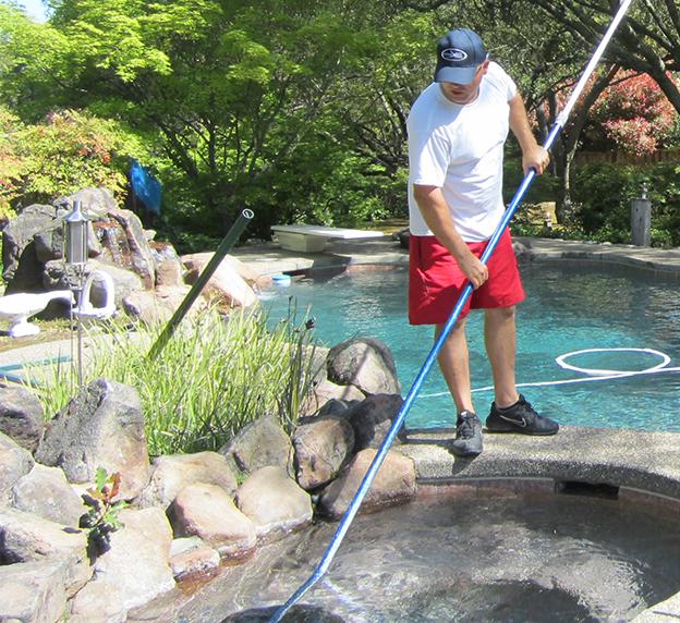 Pool service Clearwater Aquatique Has The Right Service Option For You Pool Service Routine Pool Maintenance Granite Bay Ca